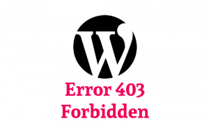 Error 403 en WordPress - Forbidden